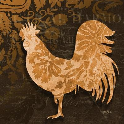 Rooster Damask 2