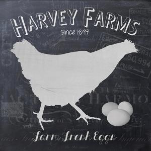 Chalkboard Hen by Diane Stimson Stimson