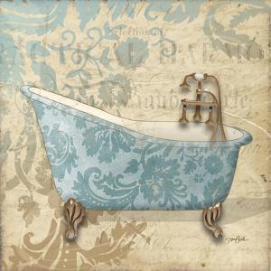 Tub Damask 1 by Diane Stimson