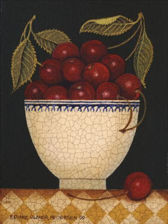 Cup O Cherries by Diane Ulmer Pedersen