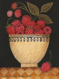 Cup O Raspberries by Diane Ulmer Pedersen