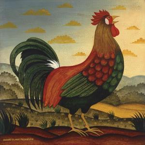 Rooster by Diane Ulmer Pedersen