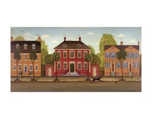 Town Houses I by Diane Ulmer Pedersen