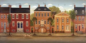 Town Houses II by Diane Ulmer Pedersen