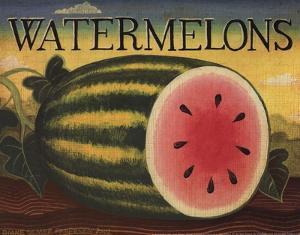 Watermelons by Diane Ulmer Pedersen