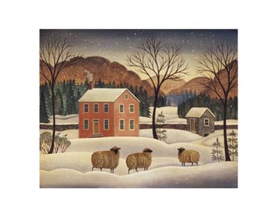 Winter Sheep II by Diane Ulmer Pedersen