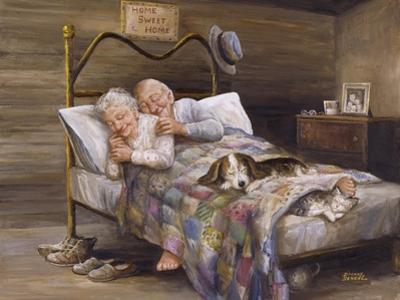 Elderly Couple by Dianne Dengel