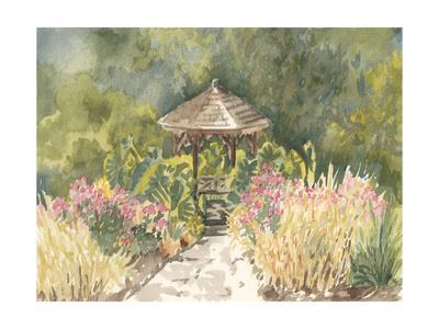 Watercolor Garden IV