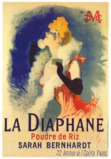 Diaphane-Jules Ch?ret-Art Print