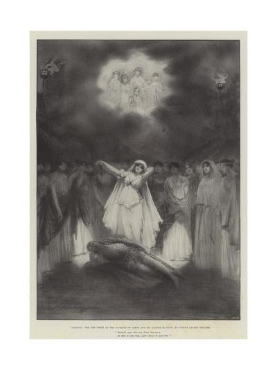 Diarmid, the New Opera by the Marquis of Lorne and Mr Hamish Maccunn, at Covent Garden Theatre-Robert Sauber-Giclee Print