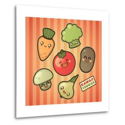 Kawaii Smiling Vegetables