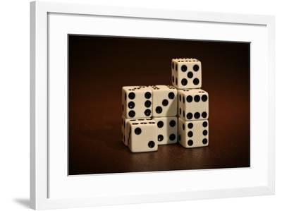 Dice Cubes III-C. McNemar-Framed Photographic Print