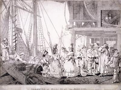 Dice Quay, Lower Thames Street, London, 1788-Charles Ansell-Giclee Print