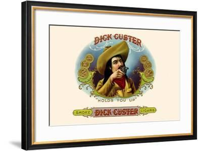Dick Custer--Framed Art Print