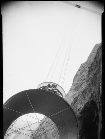 Hoover Dam Construction by Dick Whittington Studio