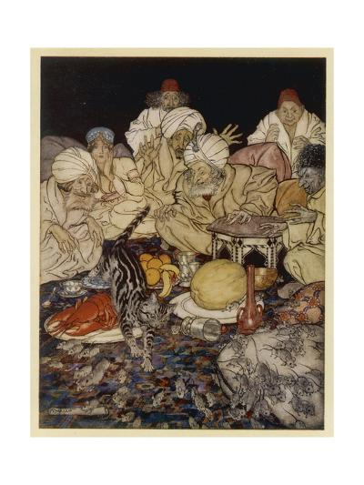 Dick Whittington-Arthur Rackham-Giclee Print