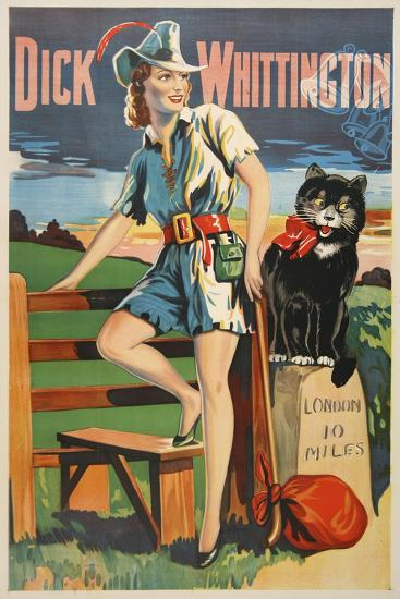 Dick Whittington-Marcus Jules-Giclee Print