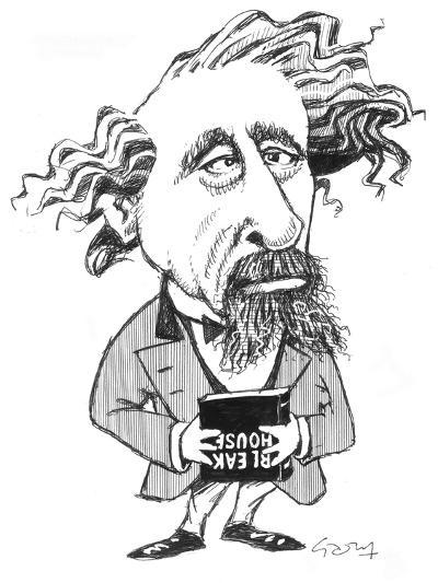 Dickens-Gary Brown-Giclee Print