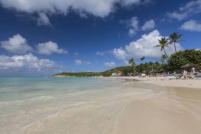 Dickinson Bay Overlooking the Caribbean Sea, Antigua, Leeward Islands, West Indies-Roberto Moiola-Photographic Print