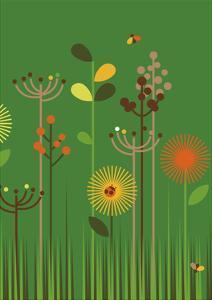 Green Meadow by Dicky Bird