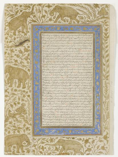 Dictionary Page, C.1607--Giclee Print