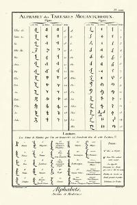 Alphabets Tartares by Diderot