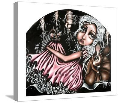 DiDi's Hideout-Angelina Wrona-Stretched Canvas Print
