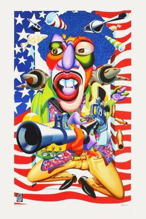 Jimmy Hendrix by Didier Chamizo