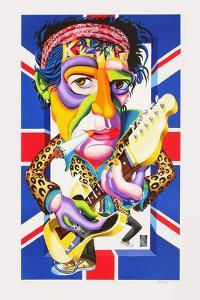Keith Richards by Didier Chamizo