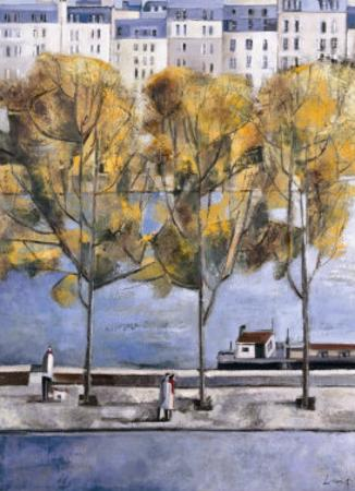 Autumn in Paris by Didier Lourenco