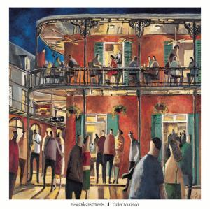 New Orleans Streets by Didier Lourenco