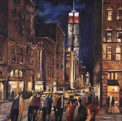 New York Night by Didier Lourenco