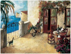 Perro y Bicicleta by Didier Lourenco