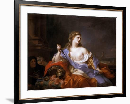 Dido on the Pyre, 1775-Johann Heinrich Tischbein-Framed Giclee Print