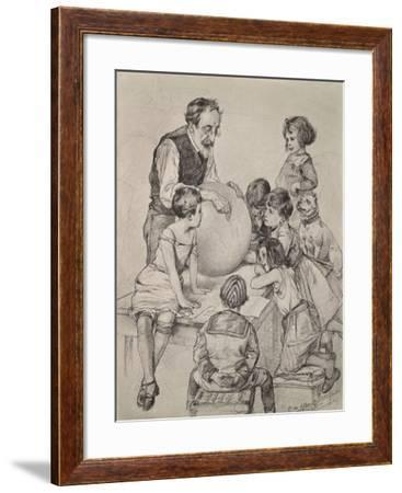 Die Circusschule (The Circus School)--Framed Giclee Print