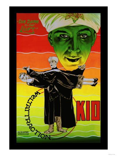 Die Dame in Der Luft: Weltattraction Kio--Art Print