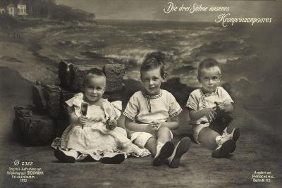 Die Drei Söhne Unseres Kronprinzenpaares, Ph 2322--Giclee Print