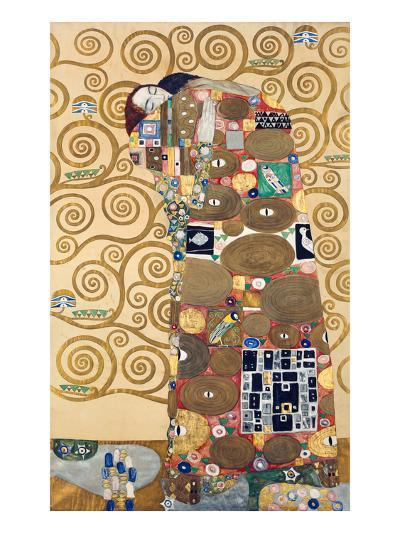 Die Erfuellung Um 1909 Werkvorlage Zum Stocletfries-Gustav Klimt-Giclee Print