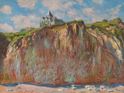 Die Kirche von Varengeville im Morgenlicht (Eglise de Varengeville, effet matinal). 1882-Claude Monet-Giclee Print