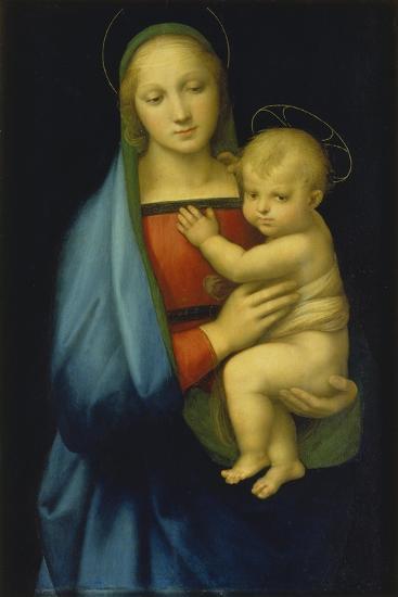 Die Madonna des Grossherzogs. Um 1500-Raffael Raffaello Sanzio-Giclee Print