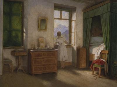 Die Morgenstunde, um 1860-Moritz Von Schwind-Giclee Print