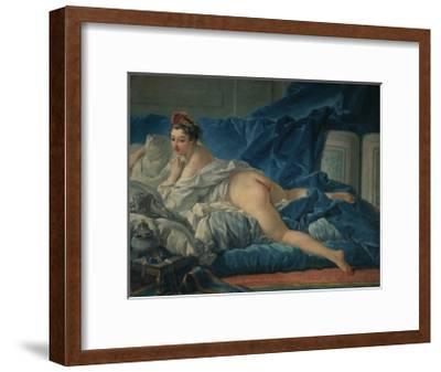 Die Odalisque-Francois Boucher-Framed Giclee Print