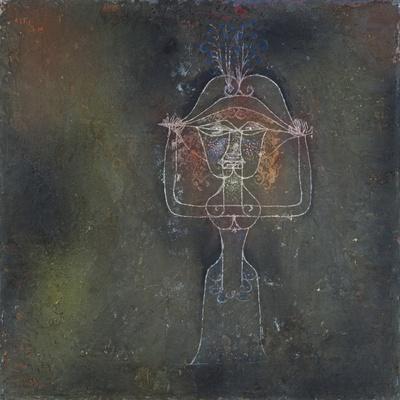 Die Saengerin Der Komischen Oper, 1927-Paul Klee-Giclee Print