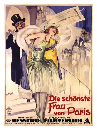 Die Schonste Frau Von Paris-W. Dietrich-Giclee Print