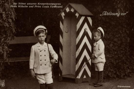 Die Söhne Des Kronprinzenpaares, Zollhaus, Npg 4778--Giclee Print