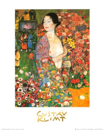 Die Tanzerin-Gustav Klimt-Art Print