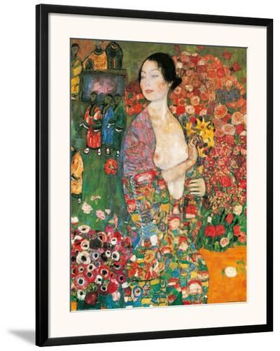 Die Tanzerin-Gustav Klimt-Framed Art Print
