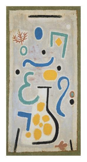 Die Vase-Paul Klee-Art Print