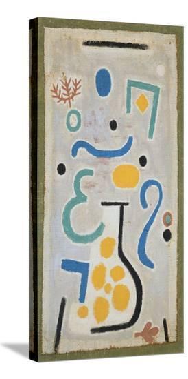 Die Vase-Paul Klee-Stretched Canvas Print