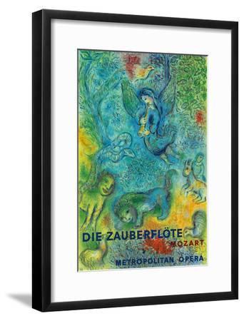 Die Zauberflöte (The Magic Flute)- Mozart- Metropolitan Opera-Marc Chagall-Framed Art Print